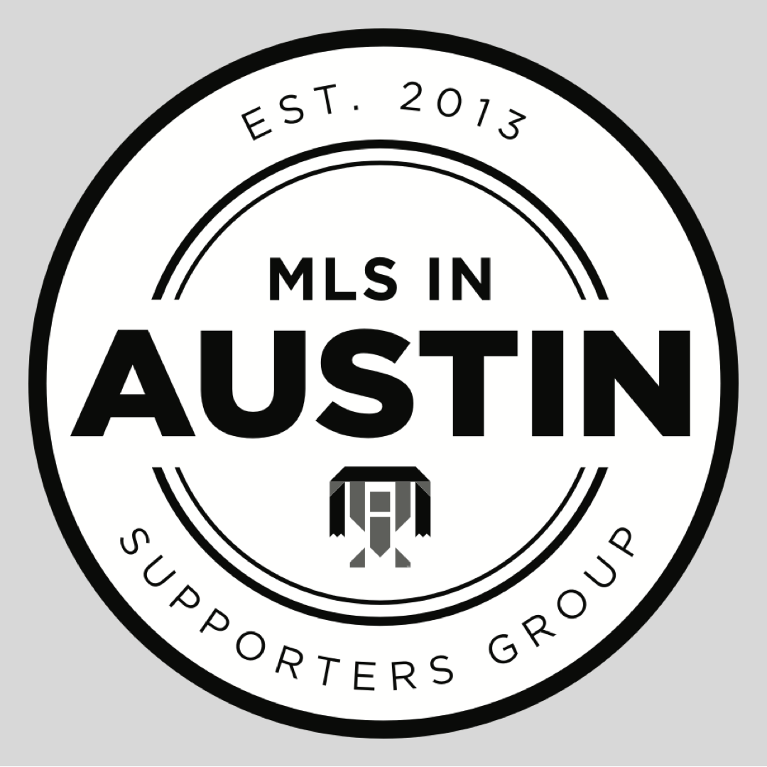 Supporters Union Logo in the MLS in Austin Logo